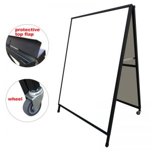 A Frame Sign Corflute Insertable 900x1200mm Frame Only