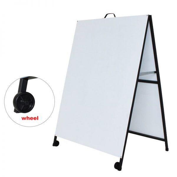 A Frame Sign Metal face 900x1200mm Frame Only