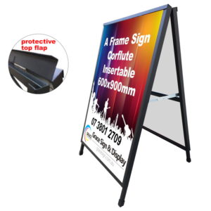 A Frame Sign Corflute Insertable 600x900mm