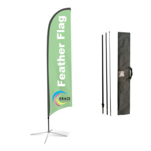 Flag Feather Banner