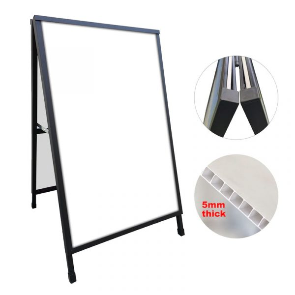 A Frame Sign Corflute Insertable 600x900mm Frame Only no flap